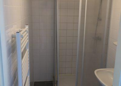 Badkamer gedeeld douche
